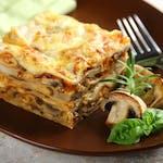 Lasagne 500g (na sosie beszamelowo-grzybowym)