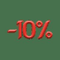 -10% na wszystko w każdy poniedziałek (nie dotyczy napojów)