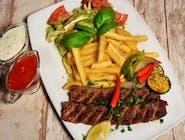 Shish kebab z grilla