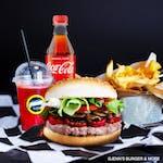 Hot Supreme Burger Zestaw