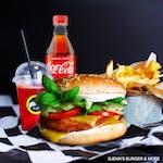 Chicken Royale Burger Zestaw