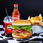 Farmer's Burger Zestaw (łagodny lub pikantny)