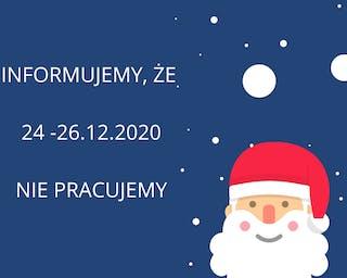 W Święta mamy wolne :)