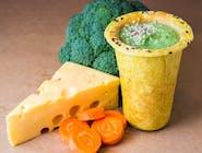 Krem brokułowy z serem