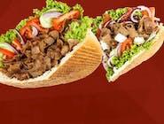 Kebab w bułce mały