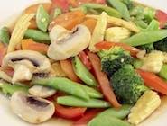 Smażone na woku warzywa