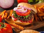 Serowa Bomba Burger
