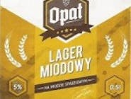 Piwo Opat Lager Miodowy
