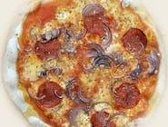 11. Pepperoni (sos czerwony)