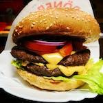 "17. Double""Burger á la kráva Cheese"""