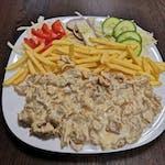 10. Kebab syrový XXL tanier