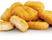 Nuggetsy (10 szt.), sos czosnkowy