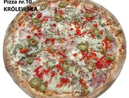 10. Pizza Królewska