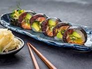 Nori maki sashimi mix 3 ryby  6 szt.