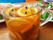 Herbata pomarańczowo-imbirowa