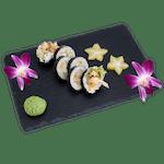 Futomaki  - Ośmiornica z czosnkiem i panko