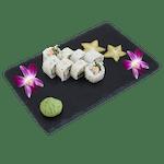Uramaki - Pieczony łosoś i sezam