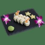 Uramaki - Krewetka w tempurze i sezamem