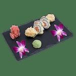 Futomaki  - Tatar z łososia w tempurze