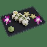 Uramaki - Owijane opiekaną maślaną i szczypiorkiem