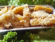frytki belgijskie z serem
