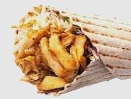 Kebab z frytkami  duży