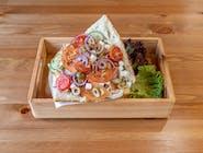 Kebab Bułka mały wege