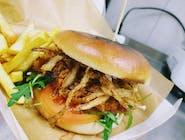 Burger szarrrpany (wieprzowy)