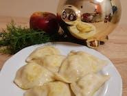 Pierożki ruskie z masłem