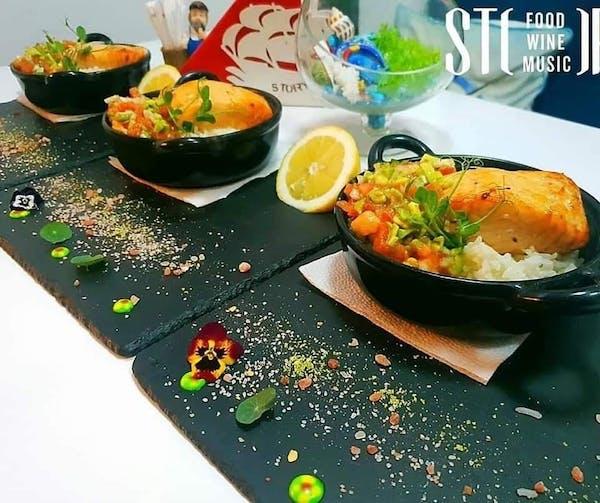Somon & rice