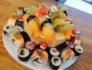 Tort z sushi mały