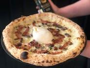 Pizza Bianca - 17. BURRATINA TRUFLOWA