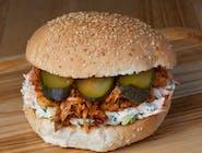 Burger Szarpany Klasyk z kurczakiem