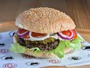 Wołu Burger na ostro