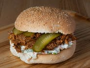 Burger Szarpany Klasyk z wieprzowiną