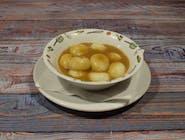 Kluski śląskie (10szt) z sosem pieczeniowym