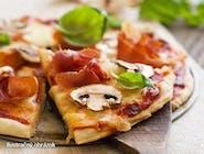 500g, Pizza Prosciutto funghi (1,7)