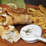 Kurací kebab s hranolkami 400g