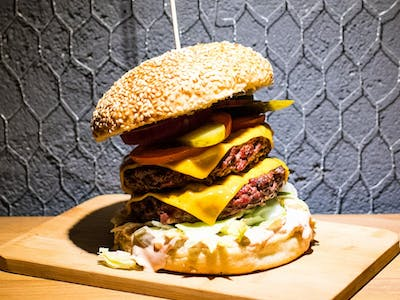 Burger Just Double Cheese
