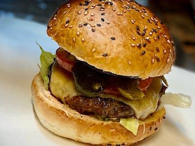 Burger Just Hot