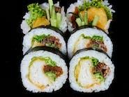 Hirame tempura futomaki
