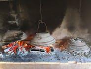 Punjene lignje s krumpirom pod pekom