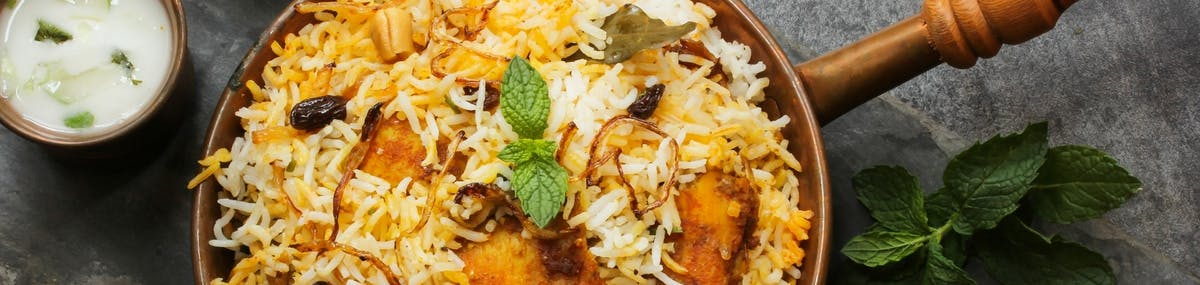 INDIAN MENU - Biryani (dania ryżowe) / Biryani (rice dishes)