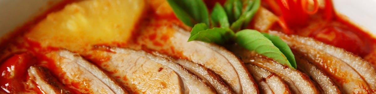 THAI MENU - Dania z Kaczki (Duck Dishes)