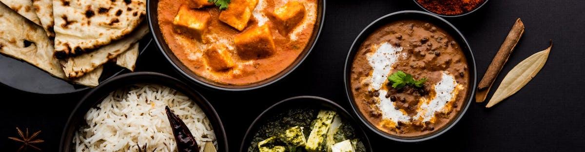 INDIAN MENU - Dania główne wegetariańśkie / Veg main course