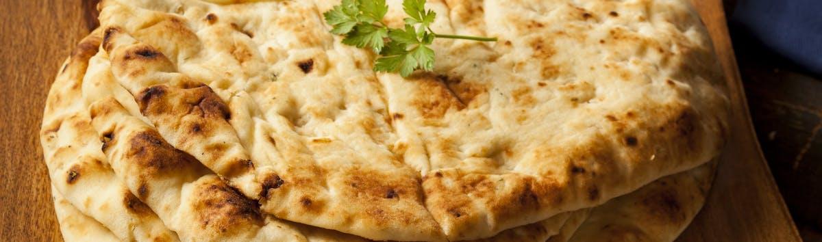 INDIAN MENU - Chlebki Indyjskie / Tandoor Naans