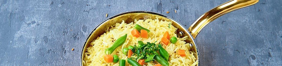 INDIAN MENU - Ryż / Rice Items