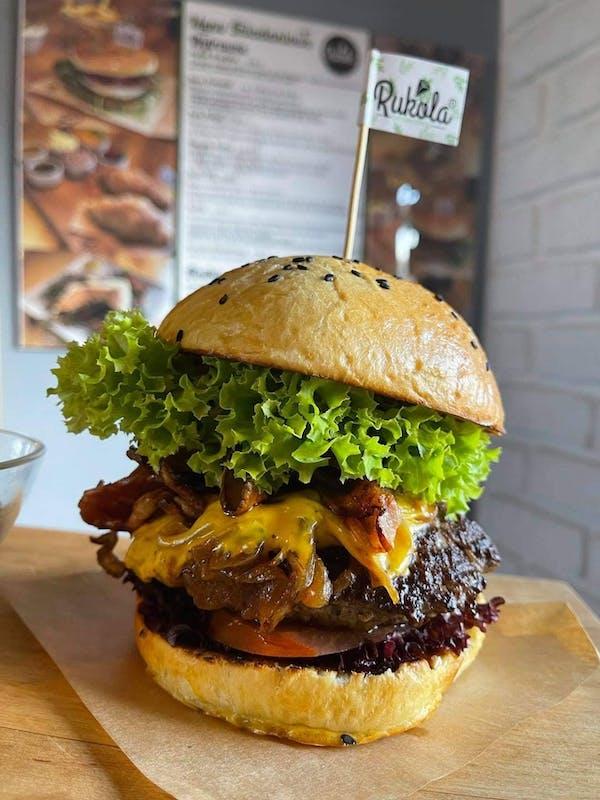 Burger SALAMI
