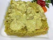 Orez basmati (indian) cu pui și curry