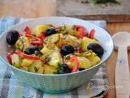 Salata orientala cu masline
